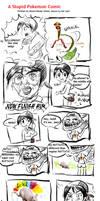 Pokemon Comic -- JOEY by littlelenore