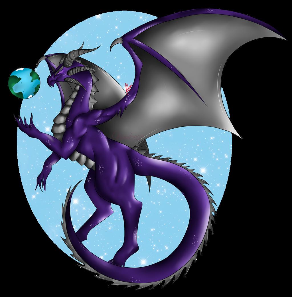 First Semi Realistic Dragon By Niniibear On Deviantart