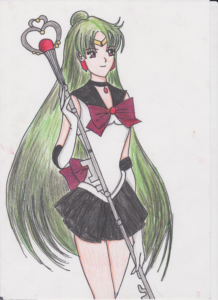 Sailor Pluto by MultiRagnell