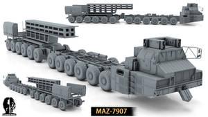 MAZ 7907 by Opara