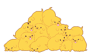 Pile of Jakes (Redraw) by cutgut