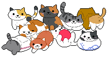 Neko Atsume by gutsies