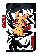 Cursed Mimikyu by cutgut