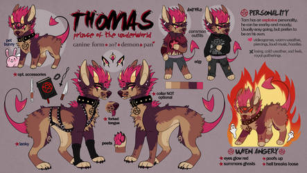 Thomas Reference Sheet 2019 by cutgut