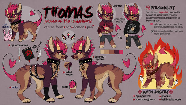 Thomas Reference Sheet 2019
