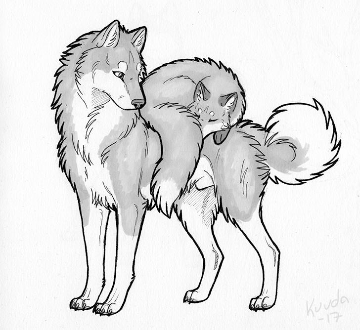 Friendship is Fluffy by Kuuda