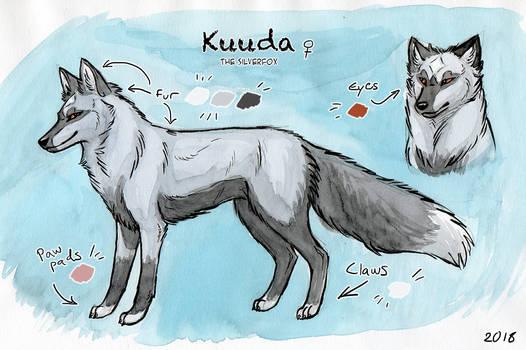 Kuuda - Feral reference sheet 2018