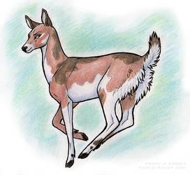 Oh deer by Kuuda