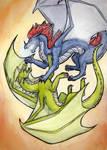 Dragonfight by Kuuda