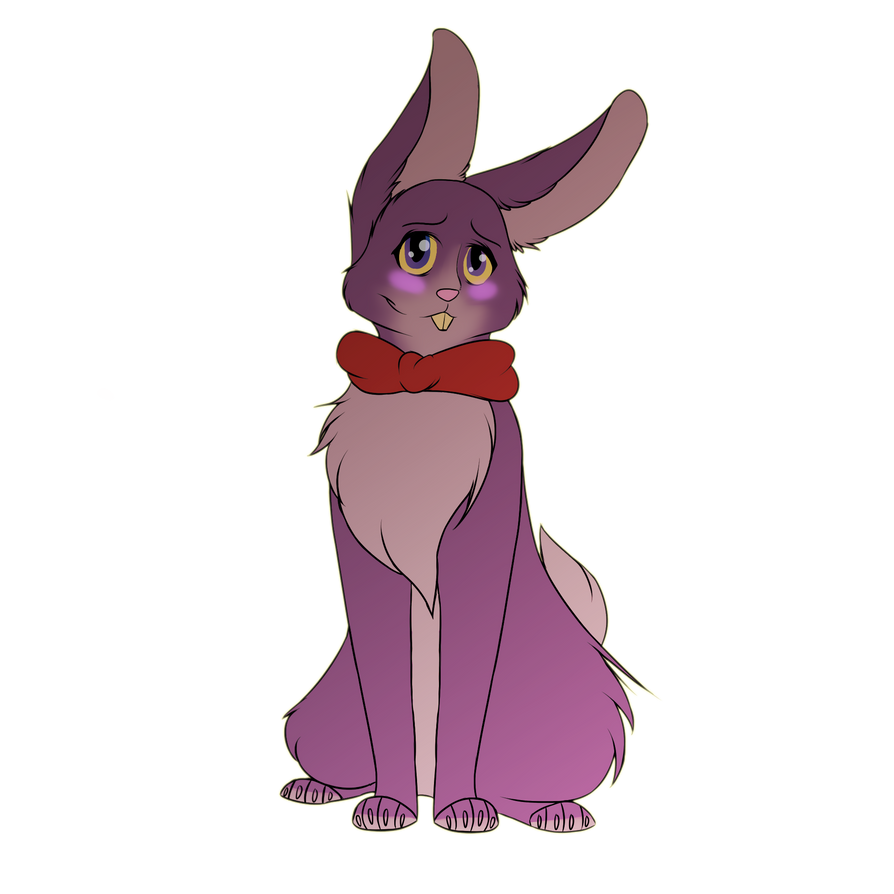 Five nights at freddy s bonnie the bunny fanart by murasakifedora
