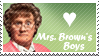 Mrs Brown's Boys Stamp by Kaosah
