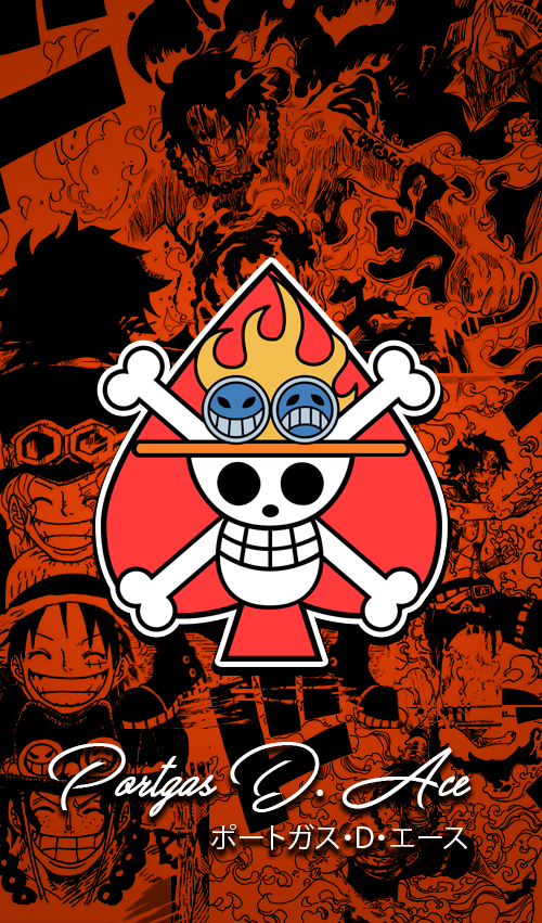 One Piece Wallpapers Mobile New World Ace By Fadil089665