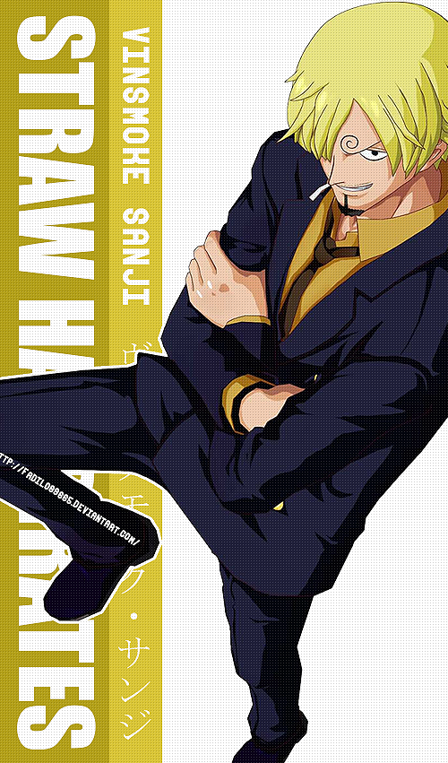 One Piece Wallpapers Mobile SHP Sanji By Fadil089665