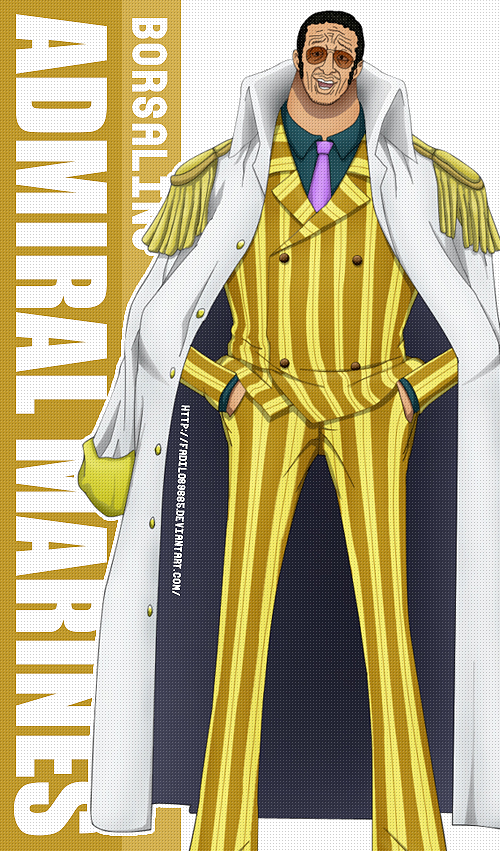 One Piece Wallpapers Mobile : Admiral , Borsalino by ...