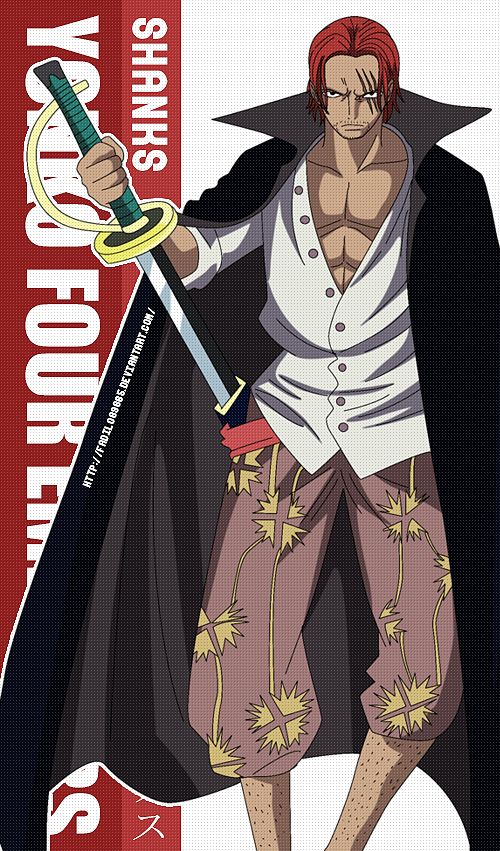 One Piece Wallpapers Mobile Yonko Shanks By Fadil089665 On