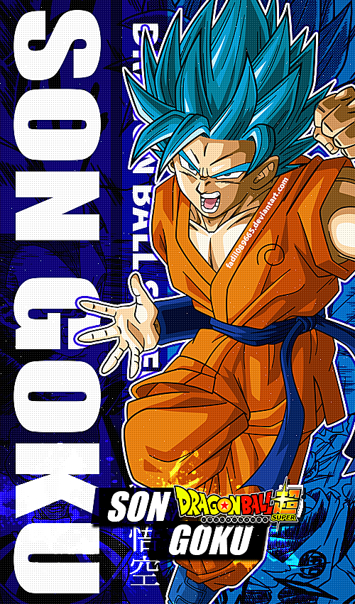 Dragon Ball Super Wallpapers Mobile Son Goku Ssb By Fadil089665 On Deviantart