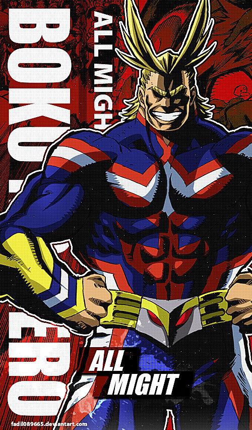 My Hero Academia Wallpapers Mobile : All Might by ...