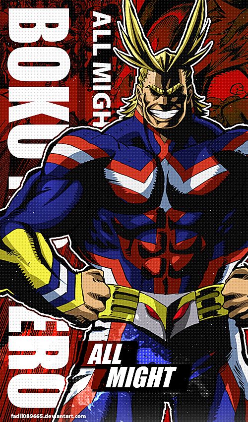 My Hero Academia Wallpapers Mobile All Might By