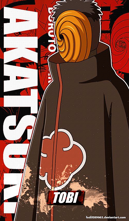 Naruto Wallpapers Mobile Tobi Obito Akatsuki By Fadil089665 On Deviantart