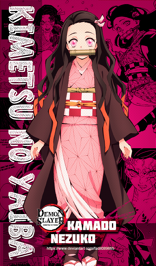 Nezuko Kamado Kimetsu No Yaiba Wallpapers By Fadil089665 On