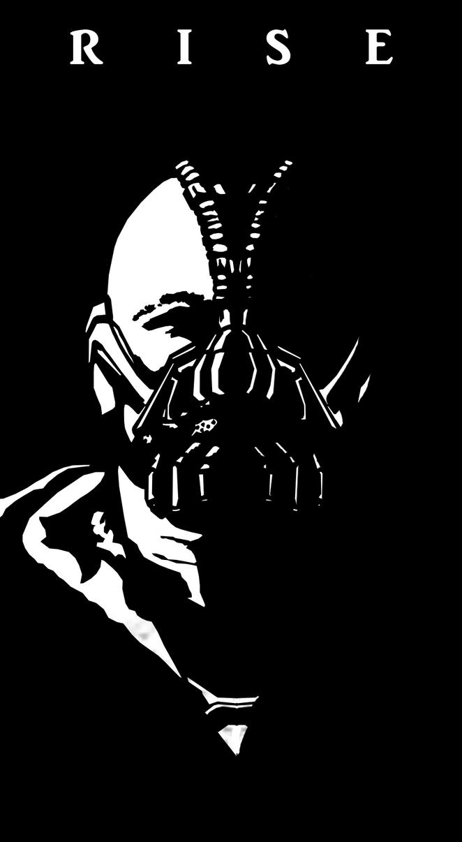 Bane: TDKR Vector Art by Krackan44 on DeviantArt