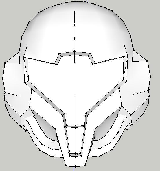 samus helmet by adventchildmatrix