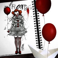 genderbent horror icons - pennywise
