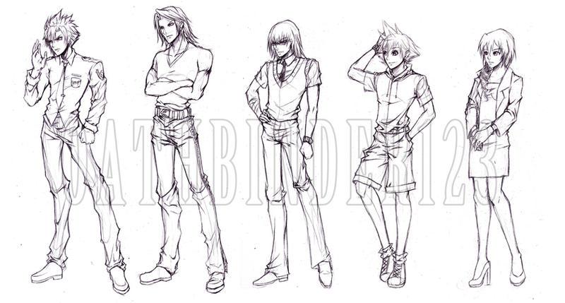 deviantart character sketches - photo #48