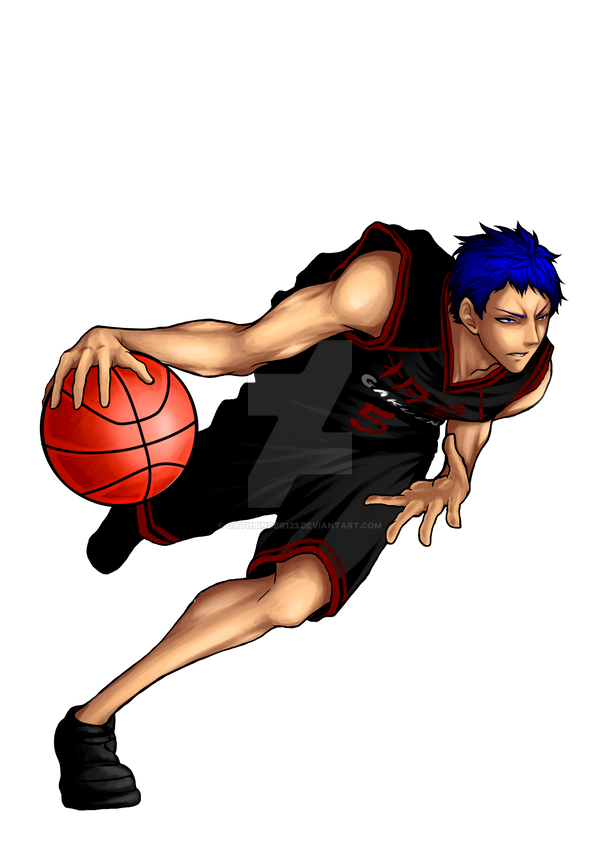 aomine daiki by oathbinder123 on deviantart