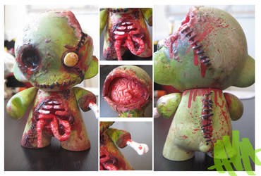 Zombie Munny: Details by Electricalivia