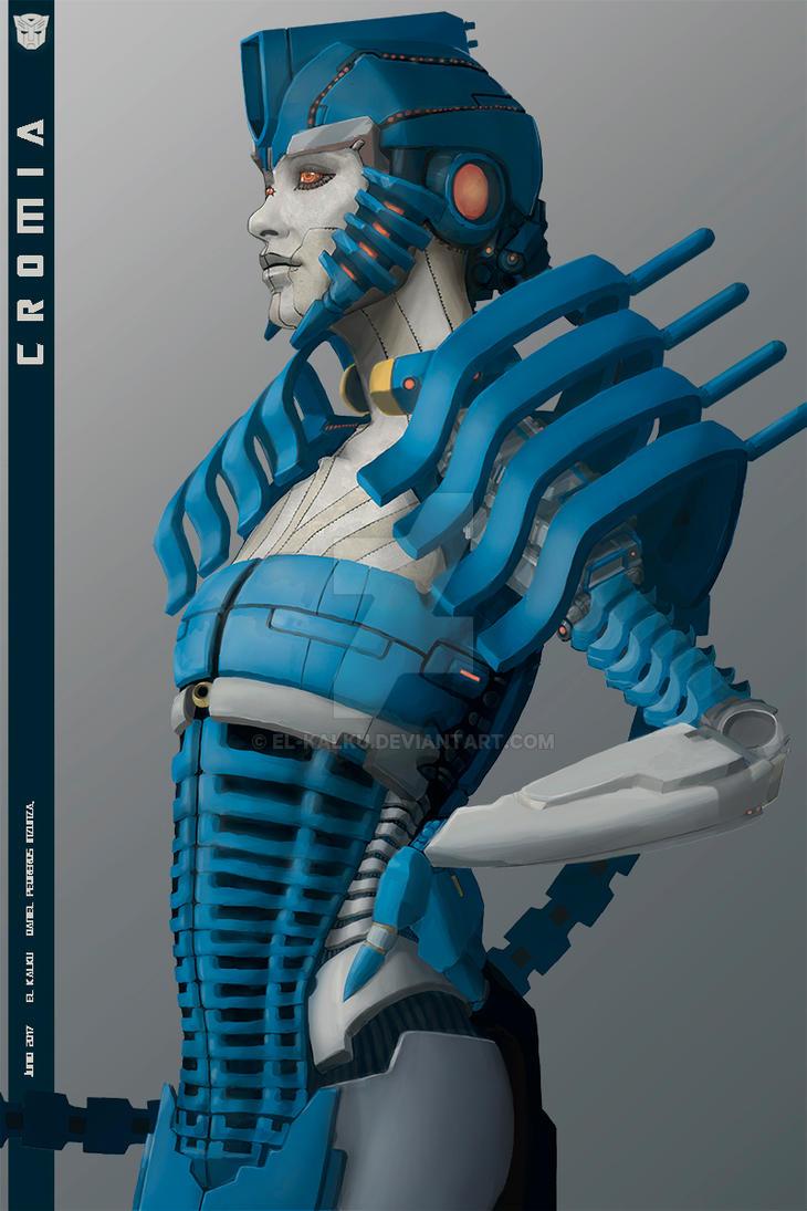 Autobot Cromia. by EL-KALKU