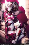 Arcee (Karen Gillan) by El - Kalku (Color)