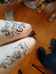 draw on my legs