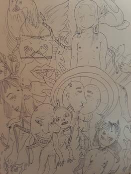 Devil doodles