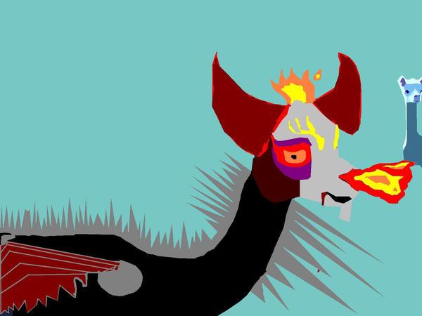 Evil Llama - 2007 Remake by public-image-limited