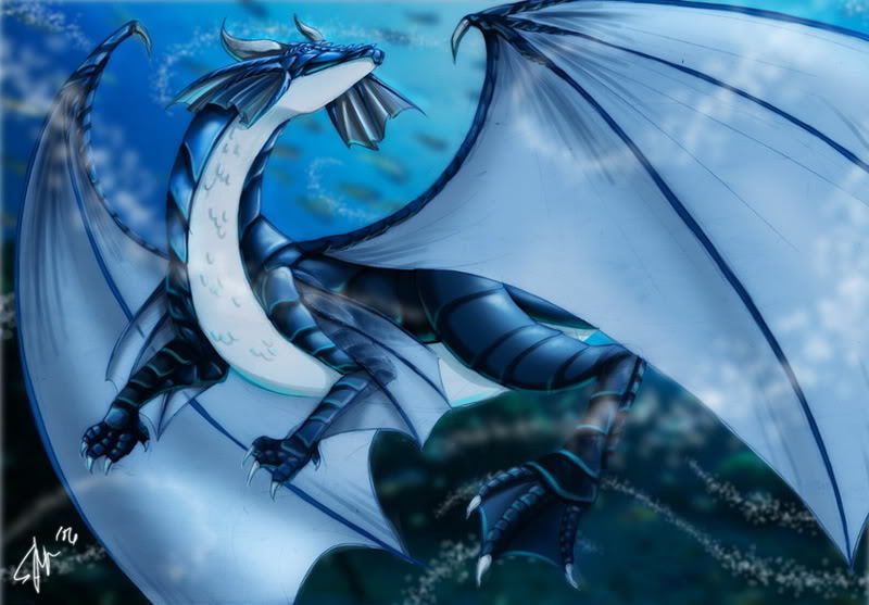 Water dragon 2 by supanova89 on deviantart