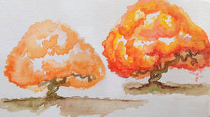 Colour Harmonies - orange