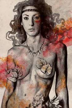 Colony Collapse Disorder (topless warrior woman)