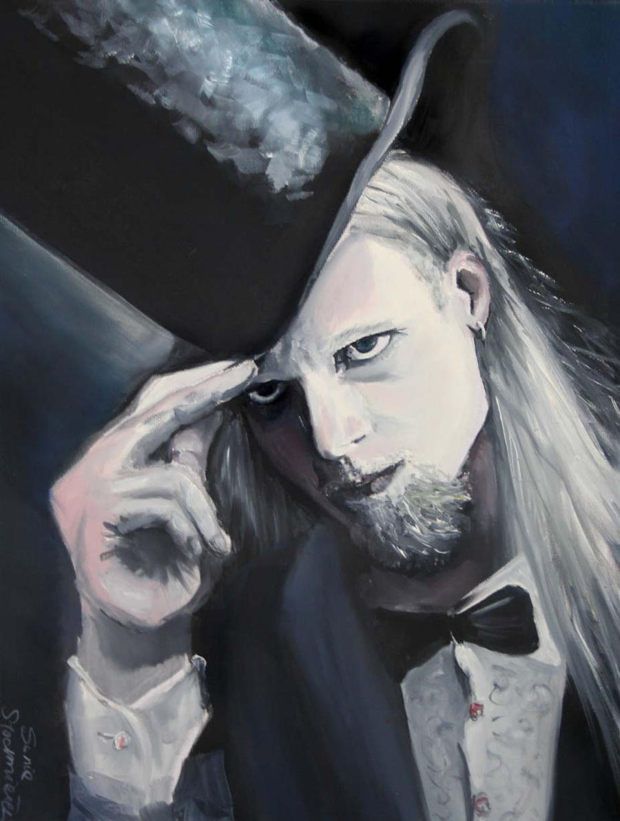 Portrait 50x70 oil paint by SoniaSh