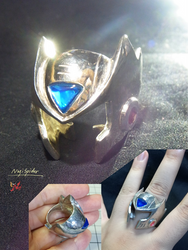 Zero's helmet ring by NagiSpider