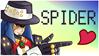 Spider stamp by NagiSpider