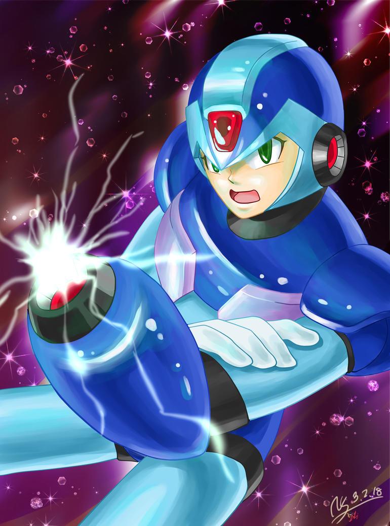 Megaman X by NagiSpider