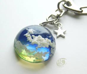 My sky #08 - Key chain