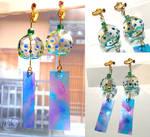 Windchime earrings by NagiSpider