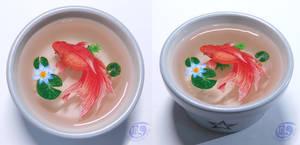 Goldfish 3D craft painting #2