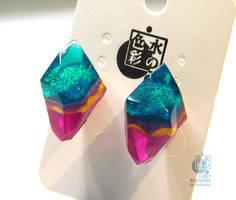 Bicolor Earrings