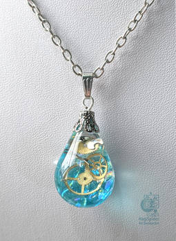 The water drop of time