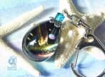 The egg of Cosmos - Resin keychain by NagiSpider