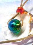 Sparkles of the ocean - Resin pendant