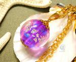 The sphere of purple by NagiSpider